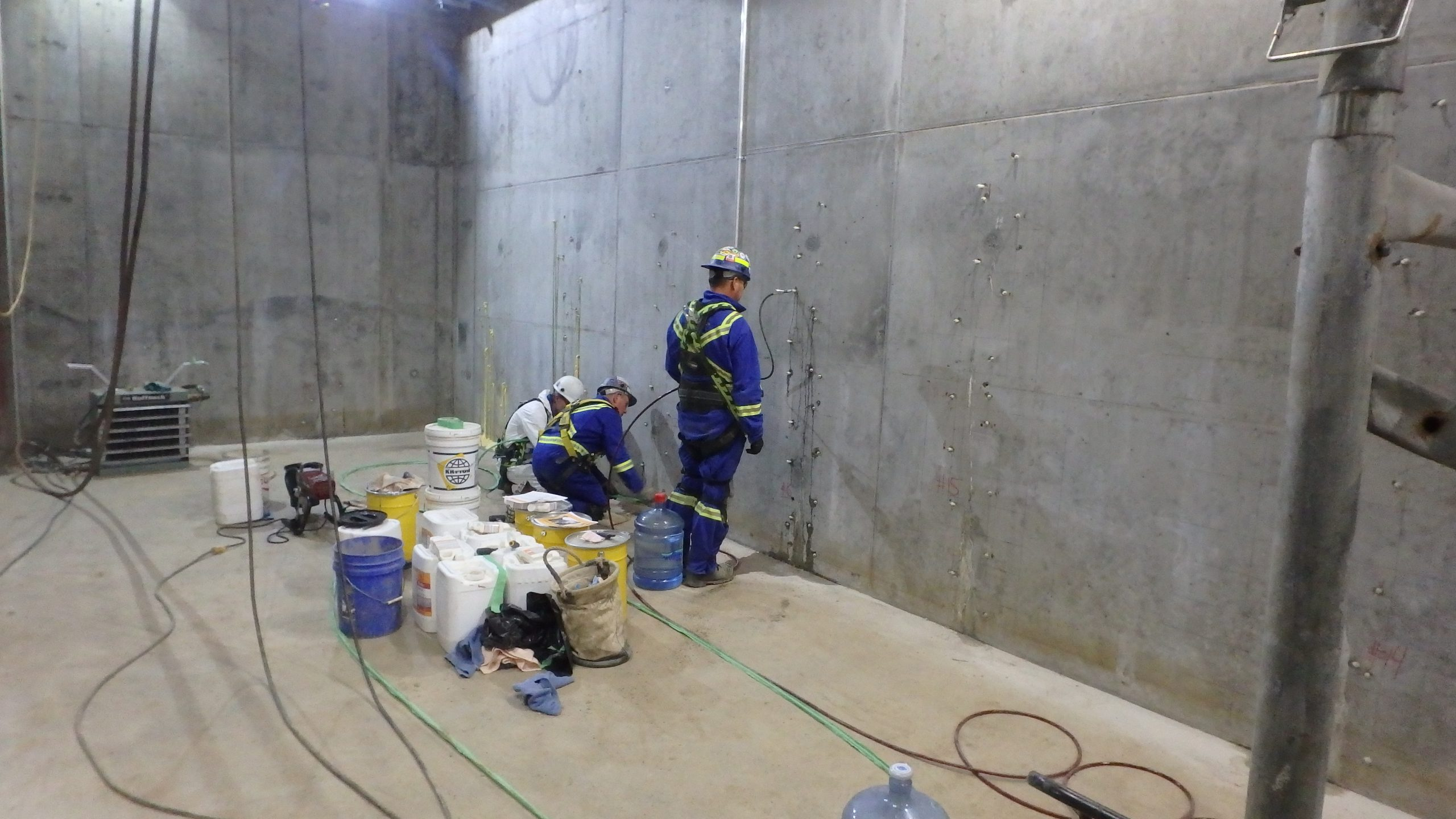 Concrete Crack Injection Grouting 2