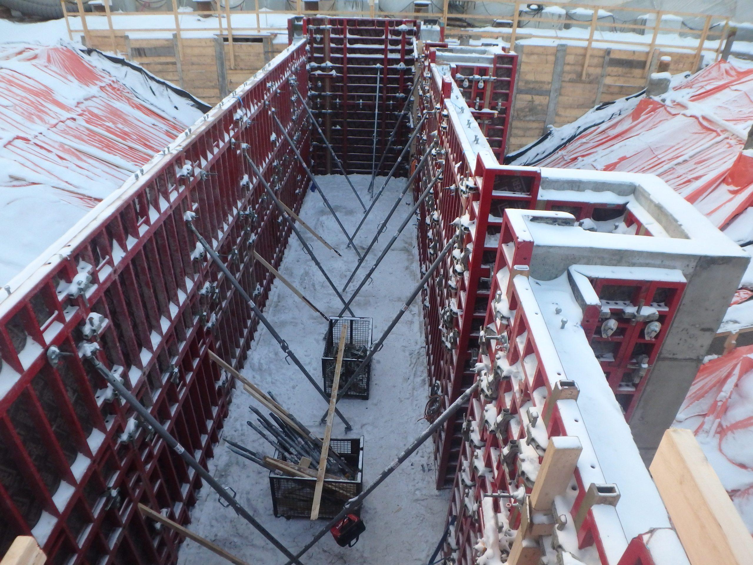 Concrete Foundation Peri Foms