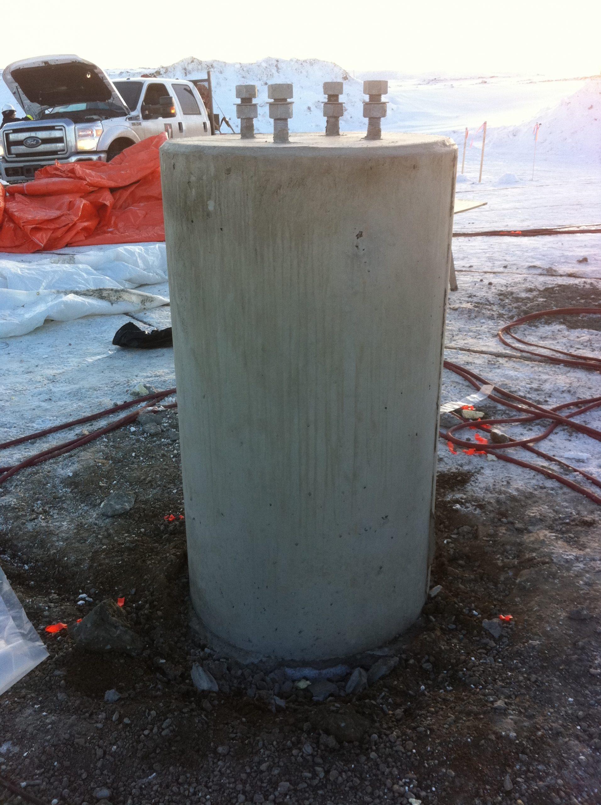 Concrete Pile Cap